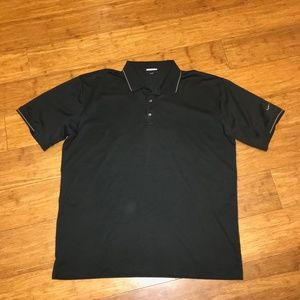 Men Nike Golf Fit Dry Polo Shirt Short Sleeve XL